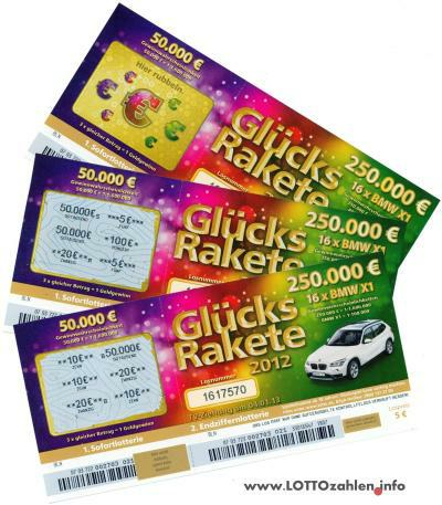 GlГјckslos Lotto